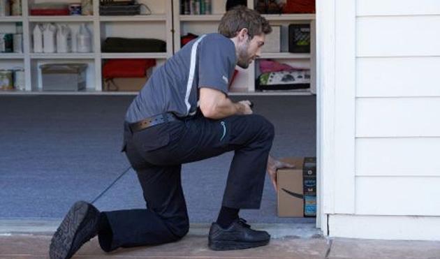 Amazon consegna i pacchi in Garage