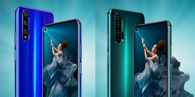 Foto Honor 20, Honor 20 Pro e 20 Lite: Specifiche, Foto, Video e Prezzi in Italia