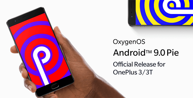 OnePlus 3 e 3T si aggiornano ad Android 9 Pie con OxygenOS 9.0.2