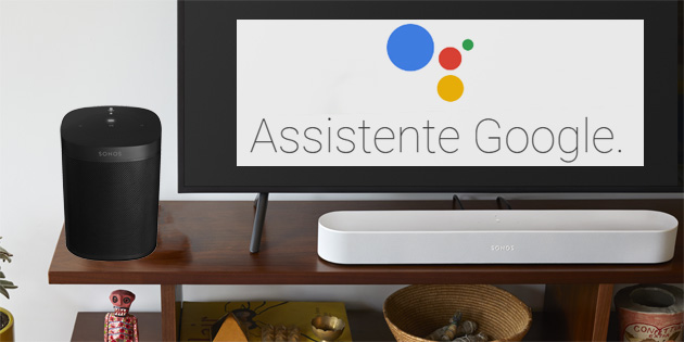 Google Assistente su Sonos One e Sonos Beam