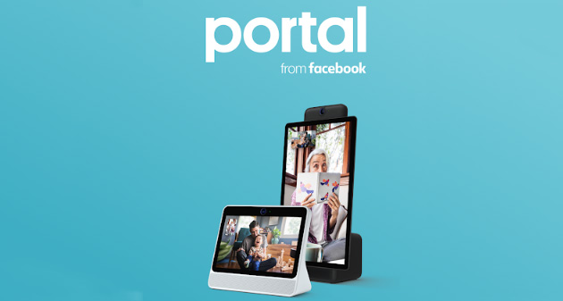 Foto Facebook lancia app Portal per gestire dallo smartphone i suoi smart display