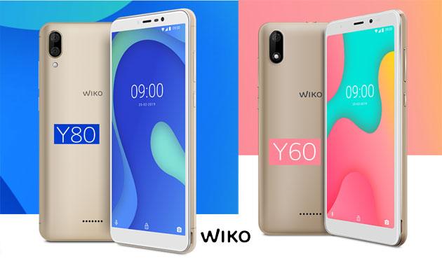 Wiko Y60 e Y80, smartphone economici con Android 9 da 79 euro in Italia