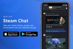 Valve Steam Chat app per iOS e Android disponibile