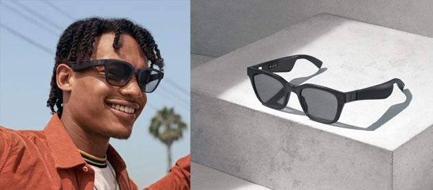 Bose Frames, occhiali con sistema di micro-acustica, controllo vocale e realta' aumentata audio disponibili in Italia