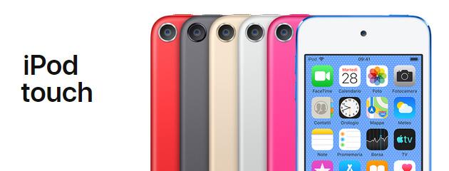Apple lancia nuovo iPod Touch con FaceTime di Gruppo, AR e chip A10 Fusion