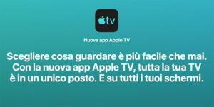 Nuova app Apple TV la fine del box Apple TV, forse