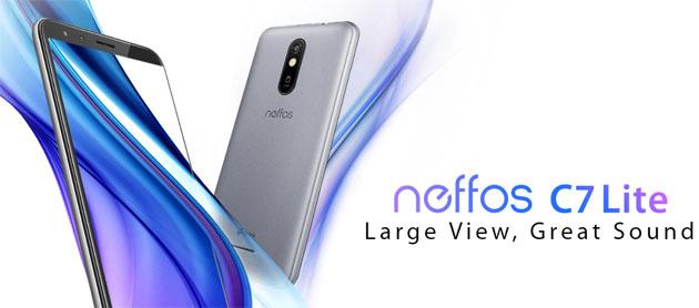 Neffos C7 Lite il secondo smartphone con Android GO da TP-Link