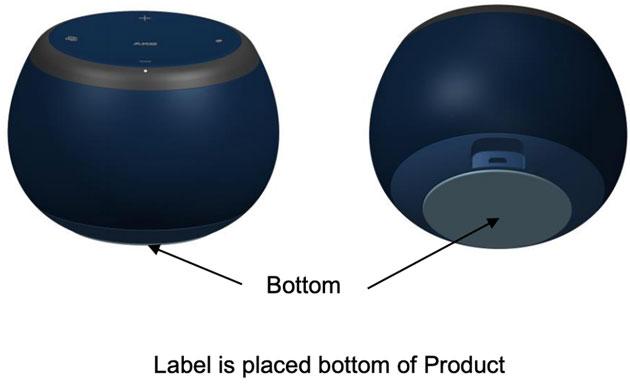 Lo smart speaker Samsung Galaxy Home Mini potrebbe somigliare a questo