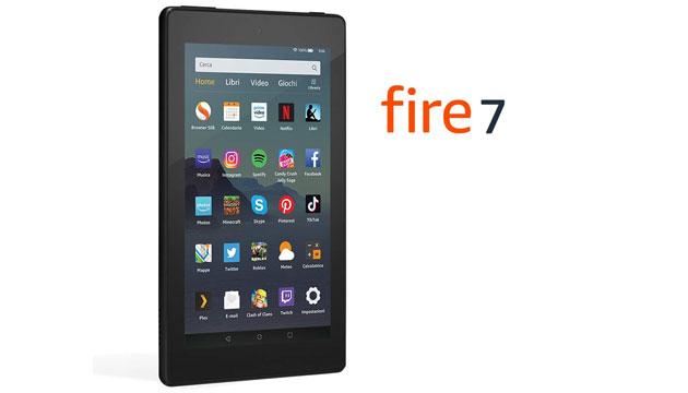 Amazon Fire 7 di 9a generazione annunciato, disponibile da giugno