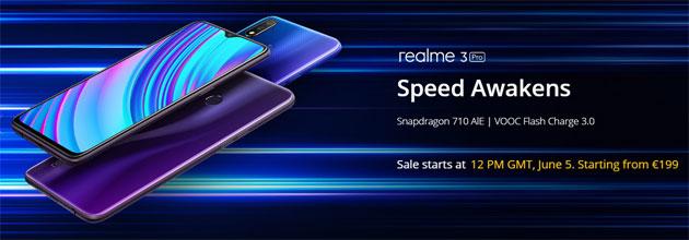 Realme 3 Pro in Italia, primo smartphone Realme in Europa: Specifiche, Foto, Video e Prezzi