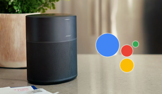 Foto Assistente Google su Bose Home Speaker e Soundbar