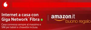 Vodafone regala Buono Regalo Amazon.it di 50 euro attivando una offerta Internet Unlimited entro il 24 giugno