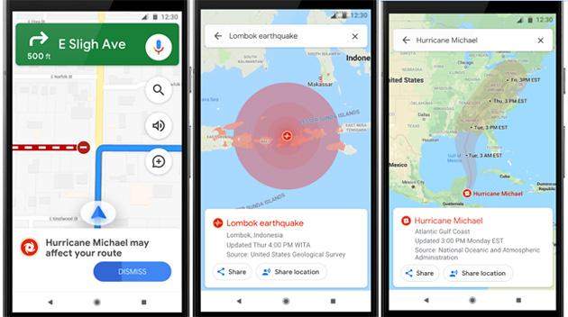 Google aggiorna Maps e Ricerca per aiutare in momenti di crisi