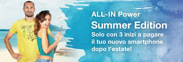 Foto 3 ALL-IN Summer Edition 2019 con smartphone incluso che si paga dopo l'Estate