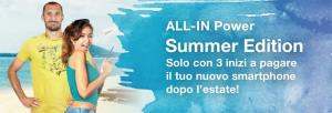 3 ALL-IN Summer Edition 2019 con smartphone incluso che si paga dopo l'Estate