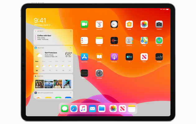 Apple lancia iPadOS, iOS con esperienze uniche per iPad