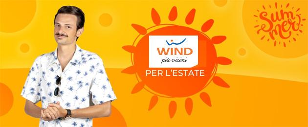 Wind, le Offerte dell'Estate 2019