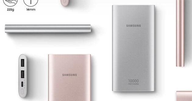 Samsung EB-P1100, Powerbank da 10000mAh con Ricarica Rapida per smartphone e tablet da considerare per non restare a secco di batteria