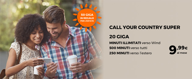 Foto Wind Call Your Country Super, offerta ideale per gli stranieri in Italia