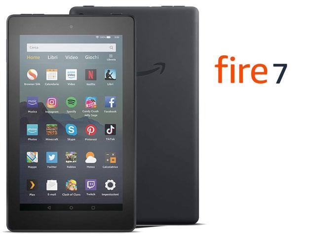 Recensione Amazon Fire 7 2019, la 9a generazione del tablet Fire 7 di Amazon