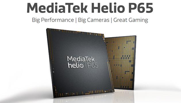 MediaTek Helio P65 annunciato con supporto per camera da 48MP