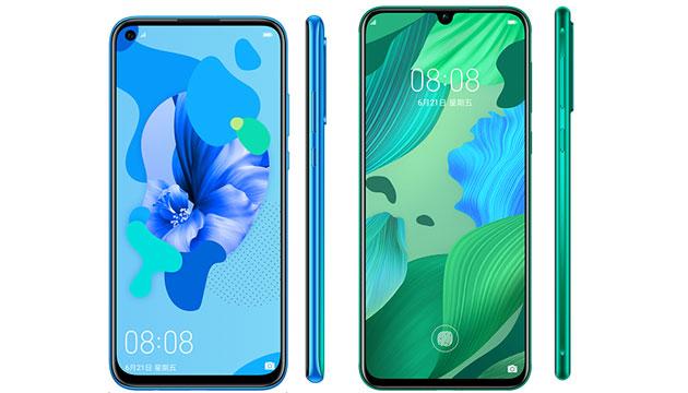 Huawei Nova 5 Series ufficiale con Nova 5, Nova 5 Pro e Nova 5i