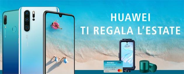 Huawei presenta le promozioni dell'Estate 2019