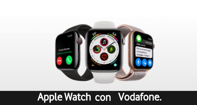 Foto Vodafone sconta Apple Watch 4 Cellular di 50 euro