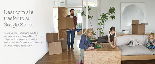 Il portale Nest trasferito su Google Store, la nuova casa per scoprire e acquistare prodotti Nest