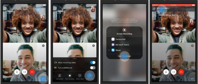 Skype, come condividere lo schermo da Android e iOS