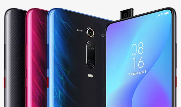 Foto Xiaomi Mi 9T in Italia con display AMOLED, camera da 48MP, selfiecamera a comparsa