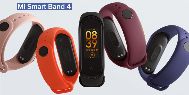 Foto Xiaomi Mi Smart Band 4 ufficiale con display a colori