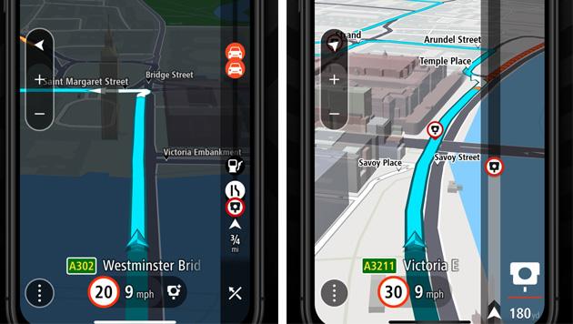 Foto TomTom GO Navigation disponibile sulle piattaforme mobile principali