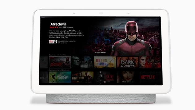 Netflix in arrivo sui display intelligenti Amazon Echo Show e Google Nest Hub, ecco gli indizi trovati