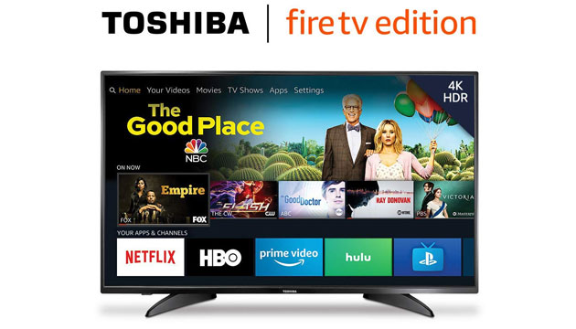Foto Amazon porta Fire TV direttamente nei televisori