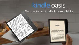 Amazon annuncia Kindle Oasis 2019 con tono di luce regolabile