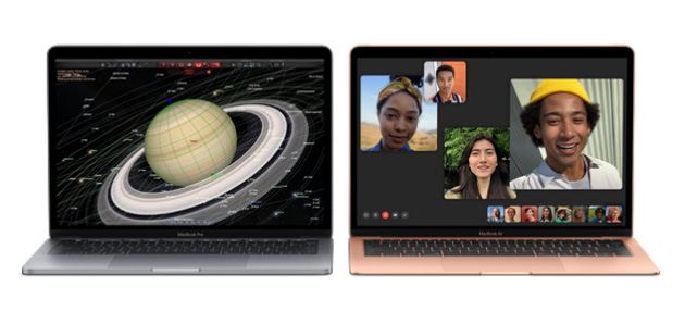 Apple aggiorna MacBook Air e Pro per il Back-To-School 2019