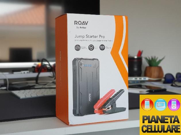 Recensione Roav Jump Starter Pro by Anker, powerbank con avviatore di emergenza per auto e moto