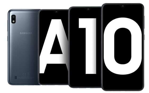 Foto Samsung Galaxy A10 con Display Infinity-V in Italia ora disponibile