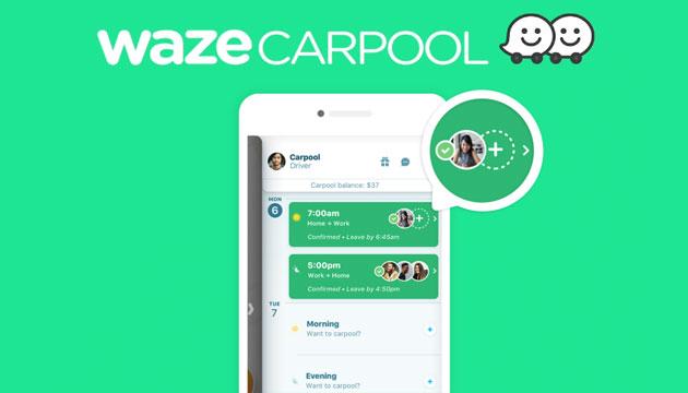 Waze Carpool semplifica la gestione dei gruppi di viaggiatori