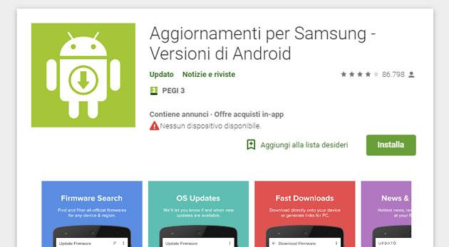 Android, falsa app che promette aggiornamenti Samsung scaricata da oltre 10 milioni di utenti dal Play Store
