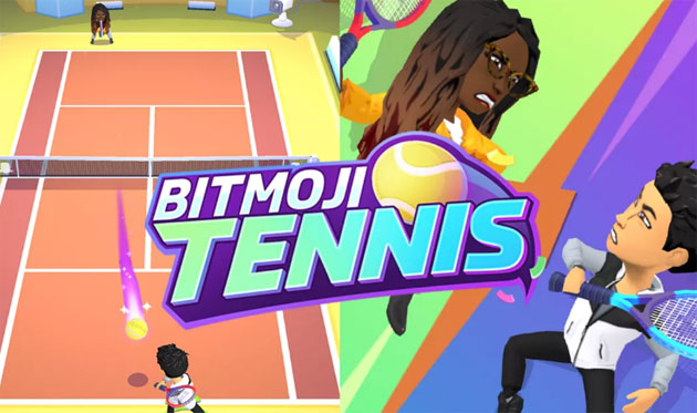 Bitmoji Tennis, nuovo Snap Game multiplayer di Snapchat