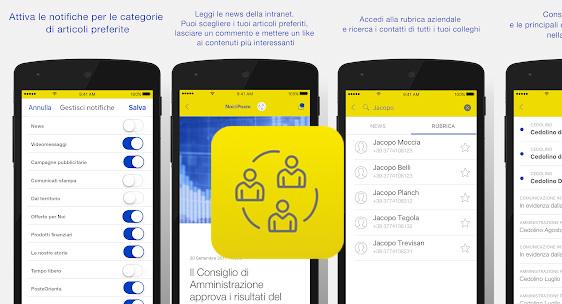 NoidiPoste, app ufficiale per i dipendenti di Poste Italiane