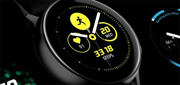 Samsung su Galaxy Watch Active migliora Bixby, rilevamento del Nuoto e Modalita' Notte