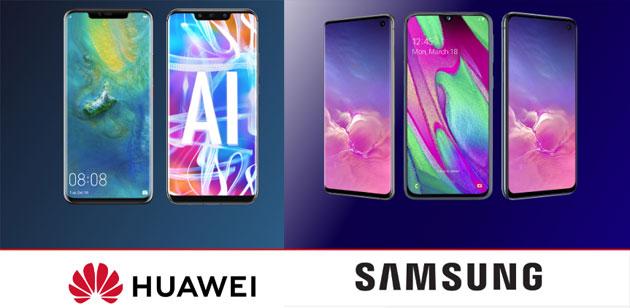 Vodafone  sconta smartphone Samsung e Huawei fino al 60 per cento con Happy Black