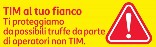 TIM ai clienti: come proteggersi da possibili truffe da operatori non TIM