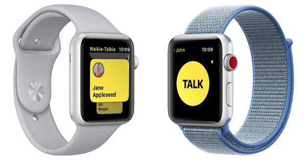 Apple Watch, app Walkie-Talkie disattivata per un bug che faceva spiare altri utenti
