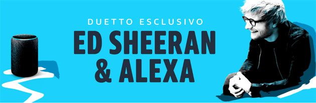Ed Sheeran e Alexa duettano insieme