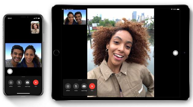 Apple FaceTime, chiamate con contatto visivo da iOS 13