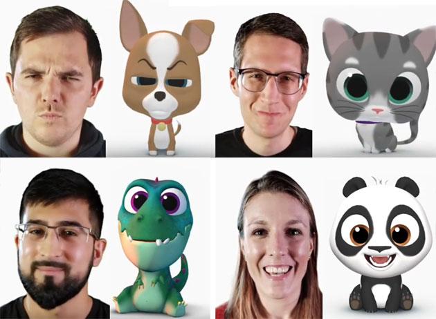 SwiftKey introduce i Puppets, personaggi animati che replicano le espressioni degli utenti
